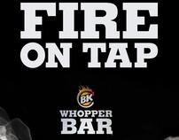 BK Whopper Bar
