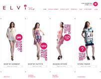 Elvi  /  ecommerce website