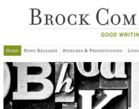 Brock Communications Website