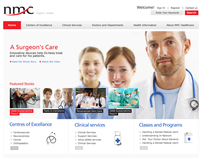 nmc  /  corporate website