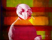 MARK ROTHKO — portrait re-interpretation