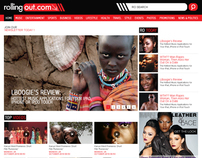 rollingout - blog design
