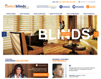 select Blinds  /  eCommerce website