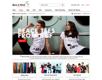 Bore&Fitch  /  eCommerce website