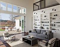 Healdsburg House by Dotter & Solfjeld Architecture + De