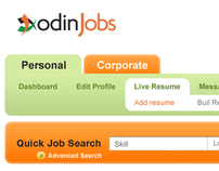 Odin   /   Job portal website