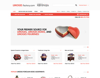 Limoges Factory  /  eCommerce website