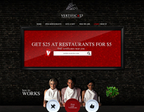 vertificate  /  restaurant  website