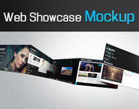 Photoshop Web Showcase Mockup