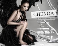 """Chenoa """"Como un fantasma promo shoot"""""""
