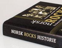 Book design | Norsk rocks historie