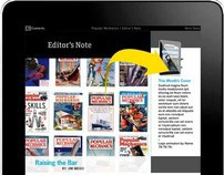 Popular Mechanics iPad App