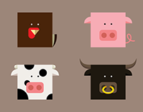 Cubic Animals - Farm Edition