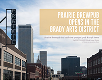 Praire Brewpub Article