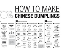 HOW TO MAKE CHINESE DUMPLINGS