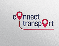 Connect Transport logo design