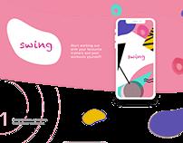 Swing app, UX/UI