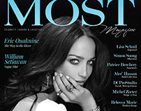 Cover of MOST Magazine
