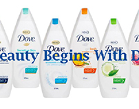 Animated Web Banners for Dove