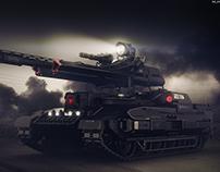 Light tank concept