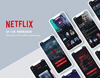 NETFLIX UI/UX Design