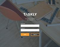 Taskly: UX Design