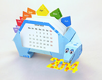 Dino calendar