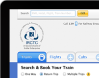 IRCTC Website Re-Design