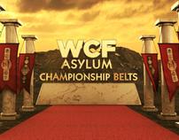 WCF Asylum Championship Belts