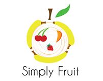 Simply Fruit Branding