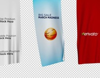 Unfolding Banners Template