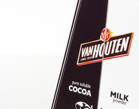 Van Houten Chocolate + Milk 2in2 Package
