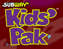 Subway Restaurant's Kid's Website