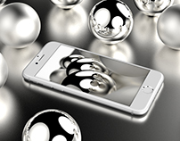 Wallpaper for Silver iPhone