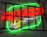 3D Neon Retroid Logo