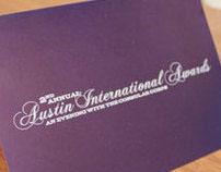 2012 Austin International Awards