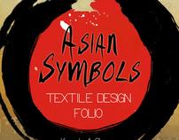 Textile Design: Asian Symbols