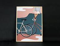 Summernight biking