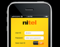 NItel Mobile apps design