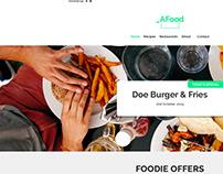 _A Food - FREE PSD