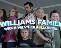 WFAA 8 Weather Followers Campaign