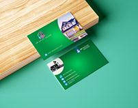 Business card design, Corporate Business card