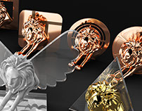 3D Cannes Lion by Neogama