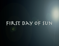 First Day Of Sun Music Video