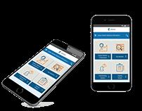 Department Mobile Website User Interface Design