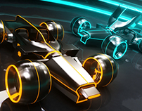 light runner: tron legacy render