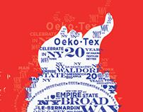 Oeko-Tex 20yr Celebration poster