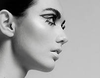 Black & White Beauty Editorial
