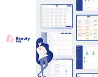 Beauty POS - Branding & Product design