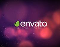 Particle Burst Logo Reveal Premiere Pro CC